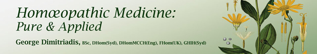 Homeopathic Medicine Pure & Applied
