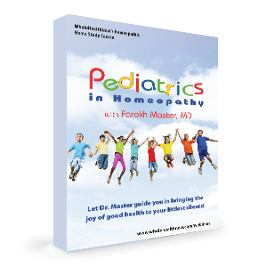 Pediatrics in Homeopathy